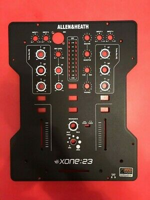 Allen & Heath Xone 23 Face Plate Face Panel Front • 14.95£
