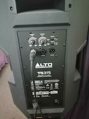 2 Alto 2000watts Ts315 Active Speakers And Alto Mixer And 2 Gorilla Stands • 300£