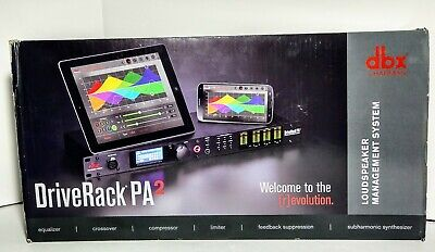 DBX DriveRack PA2 Complete Sound Signal Processor Speaker Management System PA 2 • 323.97£