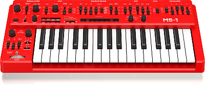 Behringer MS-1-RD 32-Key Keyboard Analog Mono Synth MS 101 W/Arpeg Red //ARMENS • 278.15£