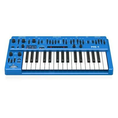 Behringer MS-1-BU 32-Key Keyboard Analog Mono Synth MS 101 W/Arpeg Blue //ARMENS • 278.15£