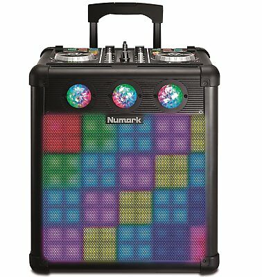 Numark Party Mix Pro - Driver Dj And Speaker Portable With Lights Reactive • 710.19£