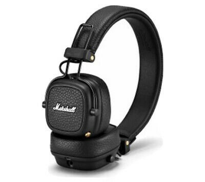 Marshall Major III Wireless Over The Ear Bluetooth Headset - Black (NEW) • 79.99£