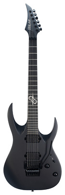 Solar Guitars A1.6FRC G2 CARBON BLACK MATTE • 859£