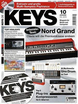 Nord Grand Clavia Im Test IK Multimedia Uno Drum Gratis Multi Samples Psytrance • 6.13£