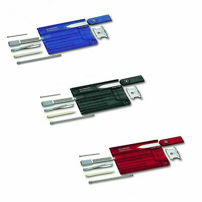 Victorinox Swiss Card - Swisscard Tool- Various Colours • 19.99£