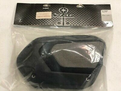 2014 & Newer Genuine Oem Yamaha Bolt Air Cleaner Cover Black And Silver • 110.45£
