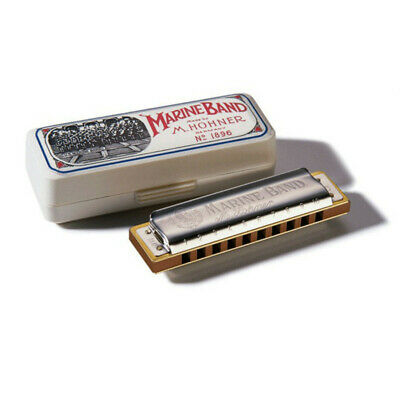 Hohner Marine Band 1896 Classic Harmonica - Key Of B • 32.99£