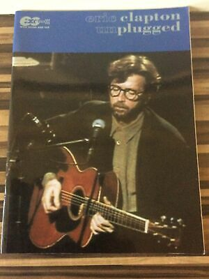 Eric Clapton Unplugged E-Z Guitar With Notes And Tab • 10£