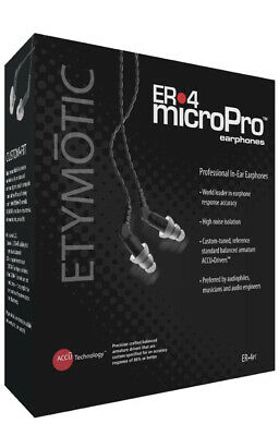 ETYMOTIC ER4P-T Earphones Kit,Portable Listening • 180.02£