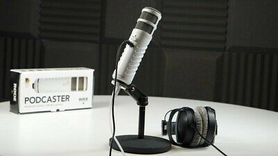 Rode Podcaster USB Condenser Microphone - 10 Year Warranty • 189£