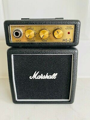 Marshall MS2 Guitar Amp Black Micro Stack Amplifier 1W MS-2  • 22.52£