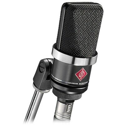 Neumann TLM-102-MT Large Diaphragm Studio Condenser Microphone (Black) Open BOX • 460.79£