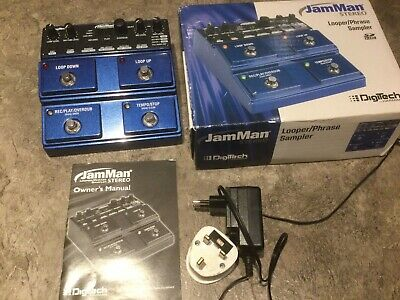 Digitech Jamman Stereo Looper Near Mint Condition • 119£