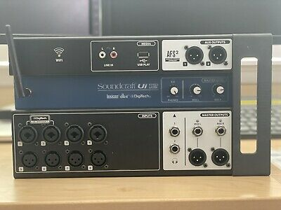 Soundcraft Ui12 Remote Controlled Digital Mixing Console (Used) • 146.29£