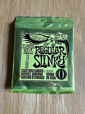 Ernie Ball 2221 Regular Slinky Electric Guitar Strings 10-46 UK SELLER  • 7.99£