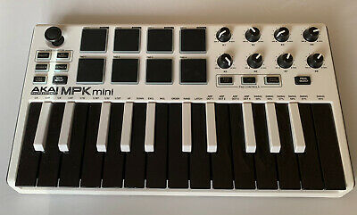 Akai MPK Mini Mk2 USB 25 Key Compact Keyboard And Pad Controller Limited Edition • 26.40£