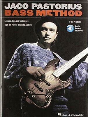 JACO PASTORIUS BASS METHOD LESSONS TIPS & TRICKS BOOK By Various New Book • 19.07£