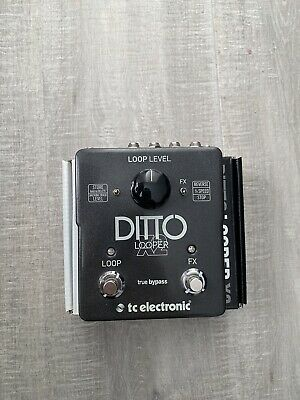 TC Electronic Ditto X2 Stereo Looper Guitar Pedal • 55£