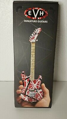 Van Halen EVH 5150 Miniature Guitar Red White And Black Stripe New In Box  • 28.62£