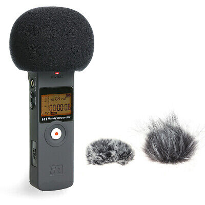 Furry Windscreen Muff Cover Foam Microphone Windproof Cover For Zoom H1 H1N ON • 3.14£