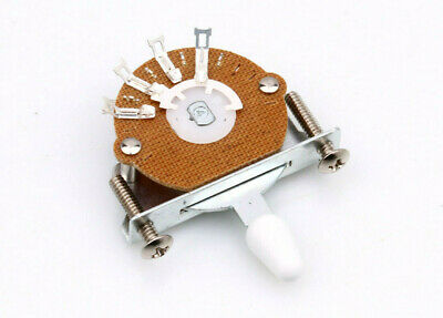 Oak Grigsby Style Pcs / Te 3-Way Pickup Selector Switch Fits FENDER • 7.09£