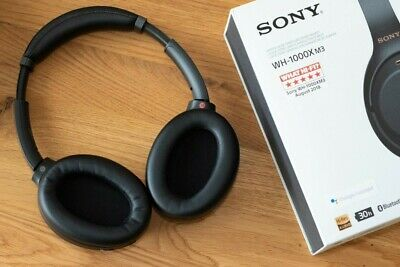 Sony WH-1000XM3 Noise Cancelling Wireless Headphones - PERFECT CONDITION • 180£