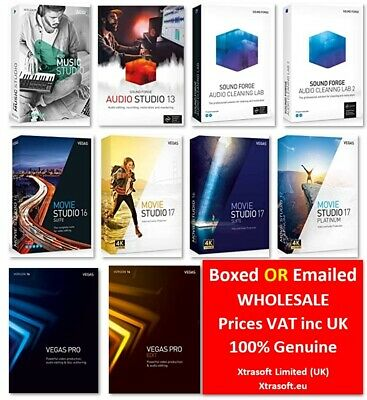 10x Magix & Vegas Titles To Choose From GENUINE BOXED OR EMAILED Lot VAT Inc UK • 29£