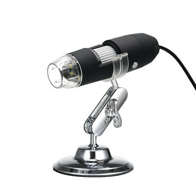 USB Digital Zoom Microscope Magnifier With OTG Function 8-LED Light H5O4 • 14.04£
