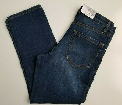 ELLA MOSS Women's Blue Jeans Size 4 / 27 High Rise Slim Straight Ankle NWT • 13.78£