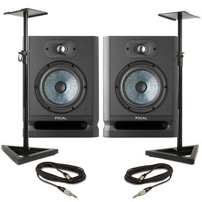 Focal Alpha 65 Evo (Pair) With Stands & Cables