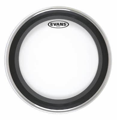 Evans EMAD 2 Clear Batter Bass Drum Head 20 In. • 45.41£