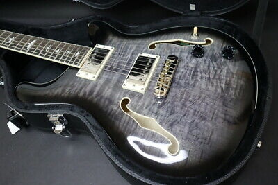 The Actual Product Of Photograph Prs Se Hollowbody Ii Ca Charcoal Burst • 1,619.47£
