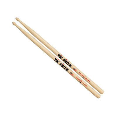 Vic Firth 5B Wood Tip American Classic Hickory Drumsticks • 9.22£