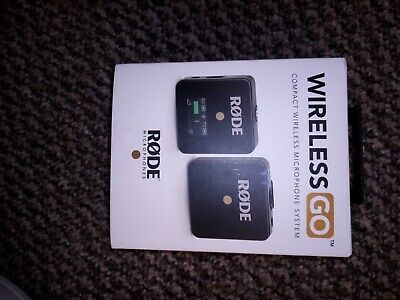 RODE Wireless GO - Compact Wireless Microphone System  • 86£