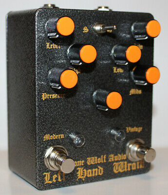 Lone Wolf Audio Left Hand Wrath - Death metal perfection Pedal, Brand New in Box