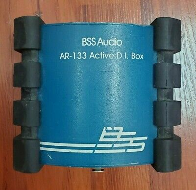 BSS AR-133 Active D.I. Box / Line Balancer Active Direct Box • 62.46£