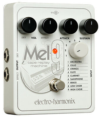 EHX Electro Harmonix MEL9 Tape Replay Machine Effects Pedal, Brand New ! • 159.09£