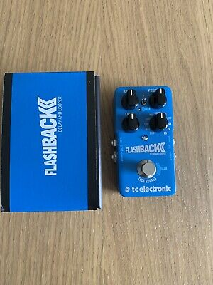TC Electronic Flashback 2 Delay Pedal With Box. Perfect Condition • 90£