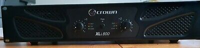 CROWN 800XLi Stereo Power Amplifier CASH ON COLLECTION ONLY - NO POSTAGE