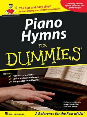 Piano Hymns for Dummies by Hal Leonard Publishing Corporation Book The Cheap