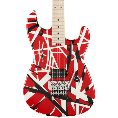 EVH Striped Series - Red Black And White Stripes • 863.08£