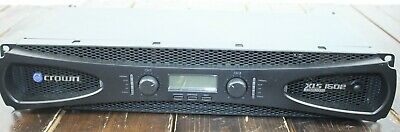 Needs Repair- Crown Audio XLS 1502 Stereo Power Amplifier (525W @ 4 Ohm)  #R8777 • 109.04£