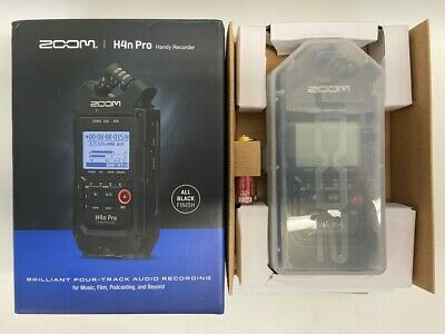 Zoom H4n Pro 4-Track Portable Recorder (TDW012685) • 143.84£
