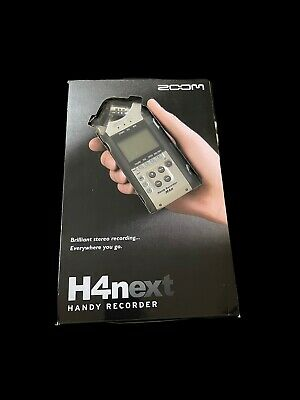In Box Zoom H4n H4next Pro Portable Handy Recorder - Black • 143.85£