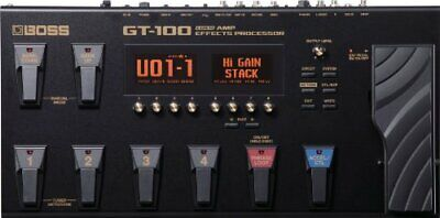 Boss GT100 Multi-Effects Guitar Effect Pedal used It works Proparly / JAPAN