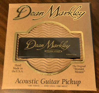 Dean Markley ProMag Grand Acoustic Guitar Pickup 3015, NEW in Box