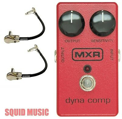MXR M-102 Dyna Comp Compressor Guitar Effects Pedal M102 ( 2 MXR PATCH CABLES )  • 56.74£