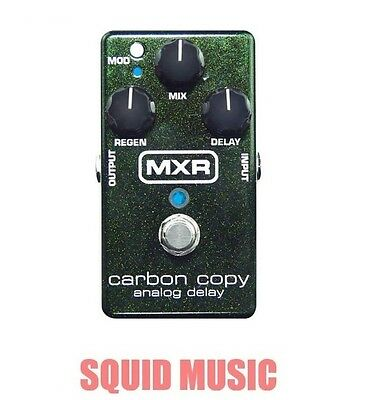 MXR Carbon Copy Analog Delay Guitar Effects Pedal M169 M-169 ( OPEN BOX ) • 99.59£