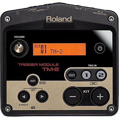 Kc01 Roland TM-2 Drum Trigger Module From Japan Best Price New Official • 197.21£